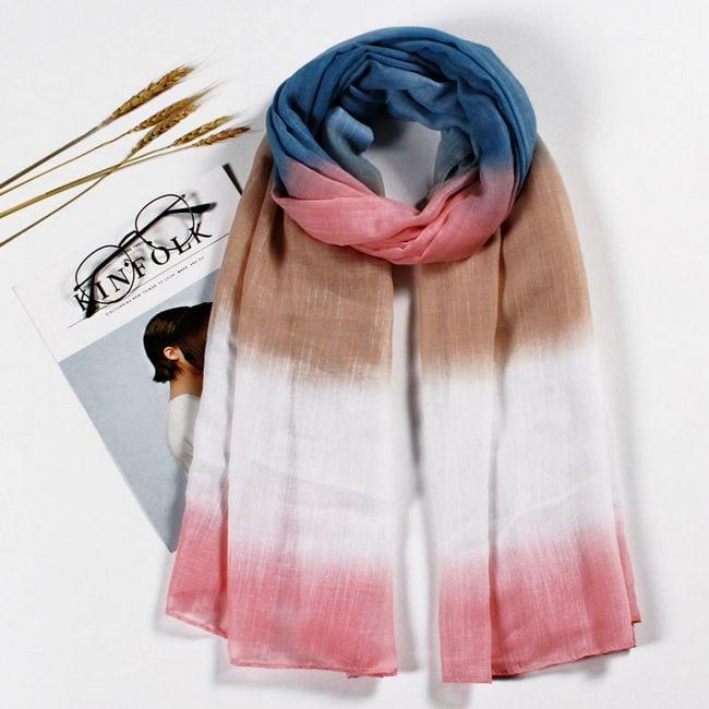 contoh shawl design terkini murah