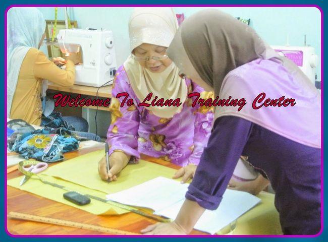 pengajaran secara terus dengan guru jahitan