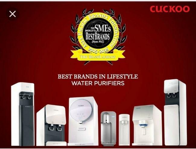 penapis air cuckoo best brand