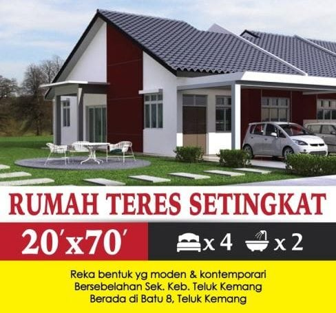 status projek perumahan murah booking