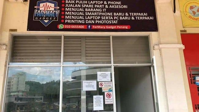 repair handphone murah penang