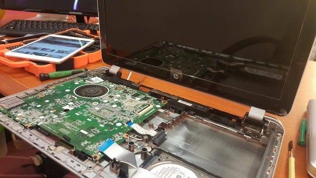 repair motherboard laptop pulau pinang