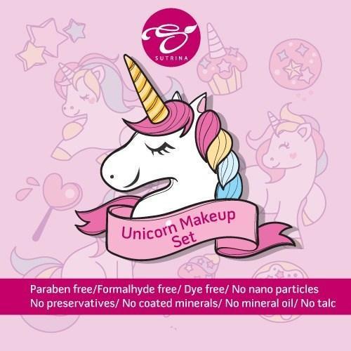 unicorn kids make up set