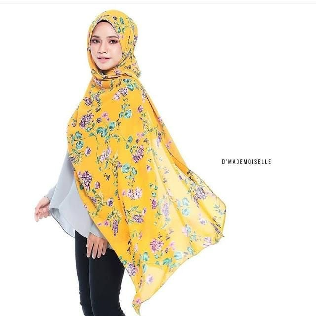 labuh tudung shawl adjustable