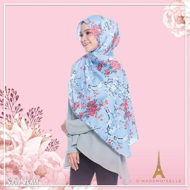 koleksi premium shawl terkini
