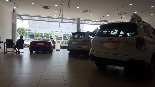subaru showroom di jb