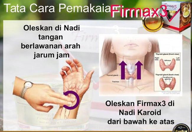 Testimoni Firmax3 untuk Merawat Penyakit Pakai