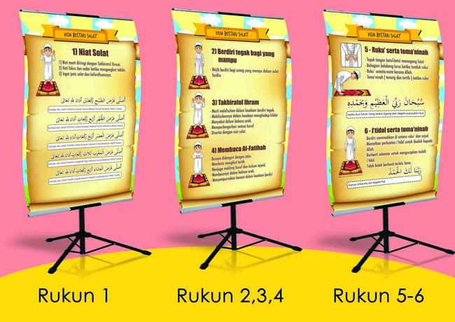 Bahan Bantu Belajar Pendidikan Islam Untuk Kanak Kanak Poster