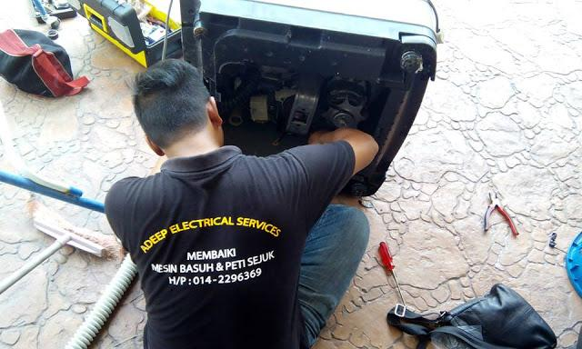 adeep electrical service baiki mesin basuh