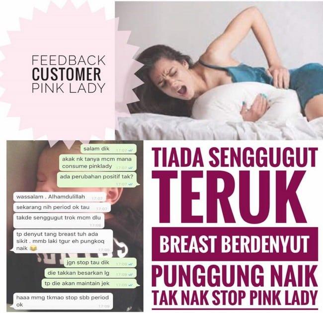 testimoni pinklady besarkan payudara dengan cepat
