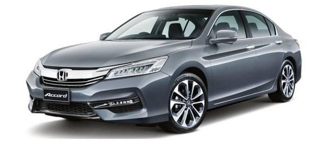 honda accord car rental cheras