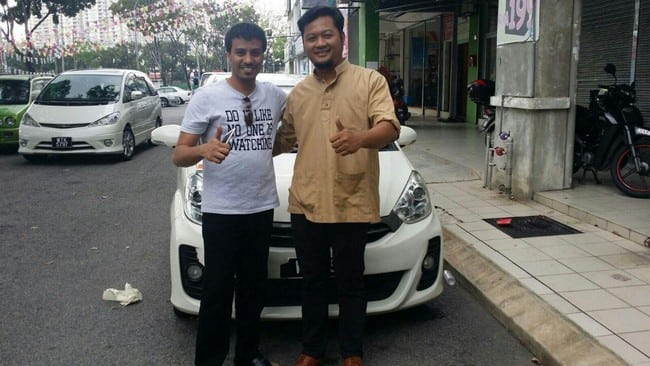 customer rental car cheras