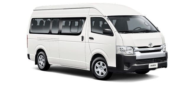 toyota hiace car rental cheras