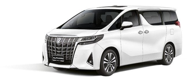 alphard 2.4 car rental