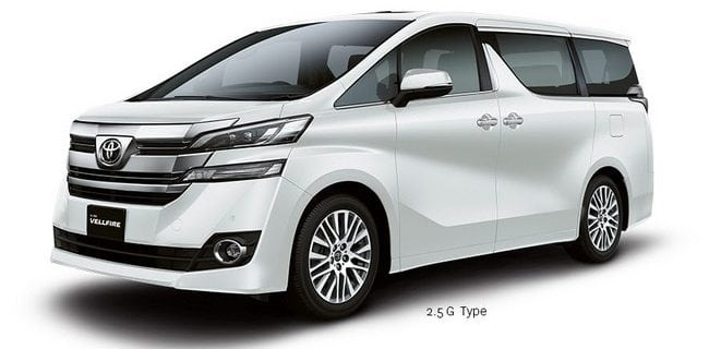 new alphard car rental