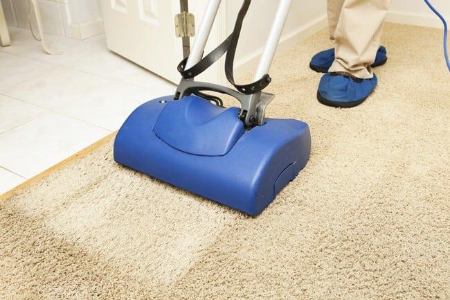 cara cuci karpet bersih