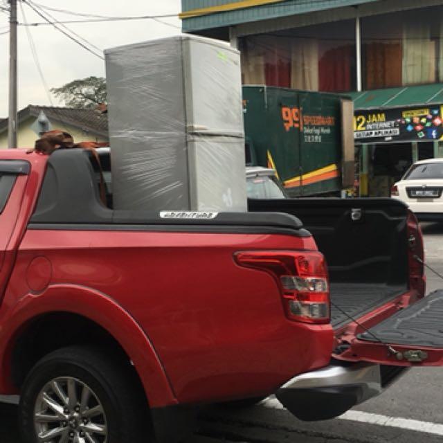 kerja angkut barang kereta sewa 4x4