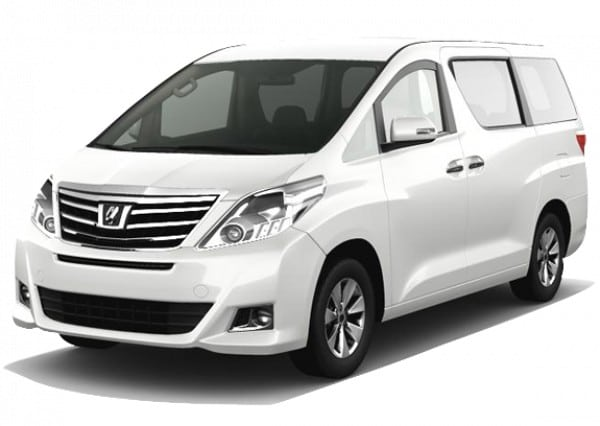 alphard sewa wedding