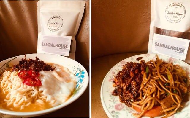cara makan sambal garing
