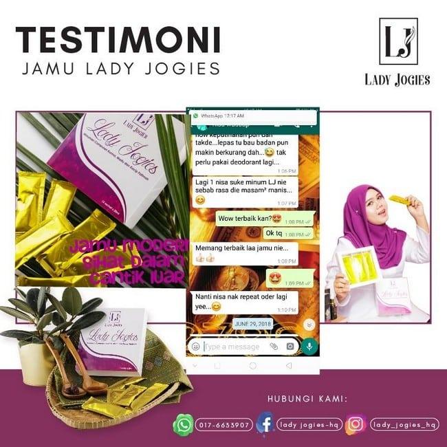 testimoni jus lady jogies wanita