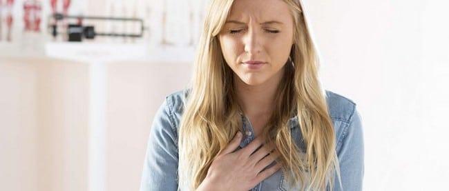 sukar bernafas tanda penyakit jantung
