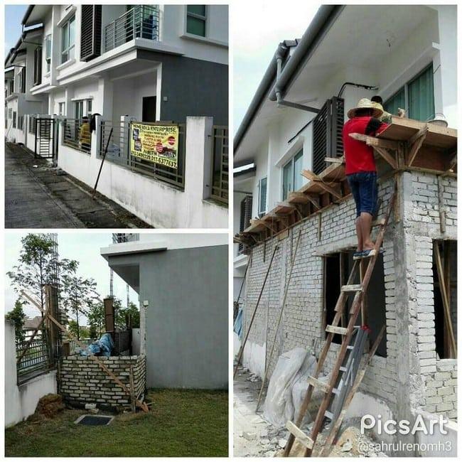 sebutharga renovate rumah di Kuala Lumpur
