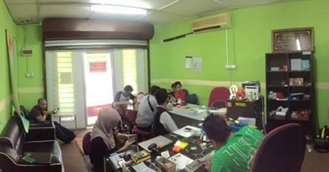 repair iphone face to face di bangi kajang