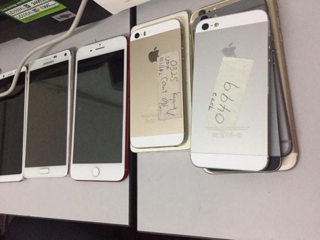 review kedai repair iphone kajang