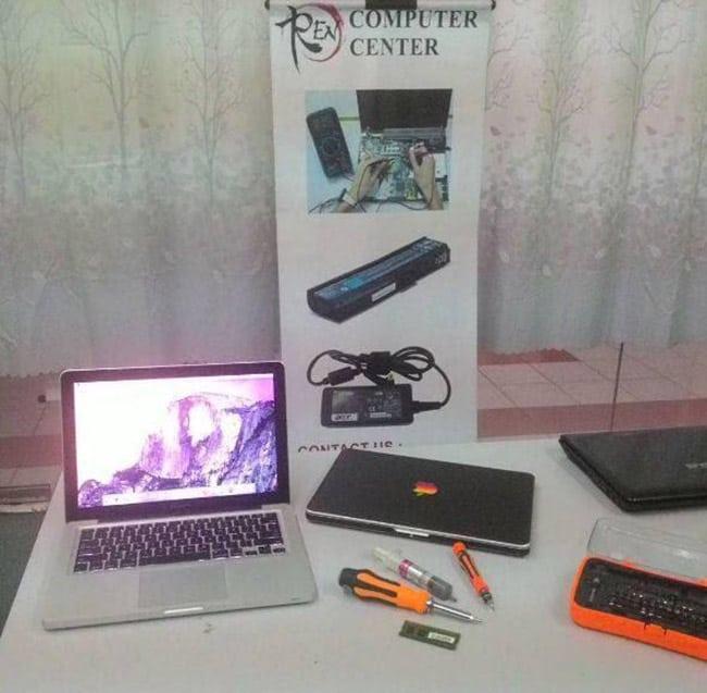 repair laptop dan macbook murah table