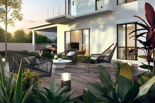 kelengkapan rumah teres 2 tingkat baru