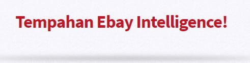 tempahan ebay intelligence