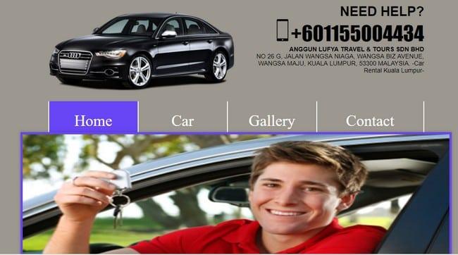 website sewa kereta vellfire