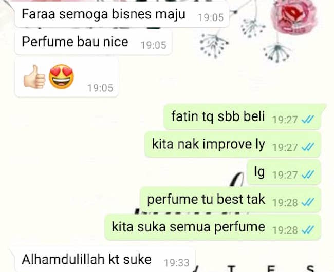 Beli Perfume Import Murah Testimoni