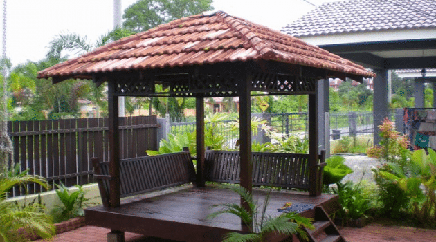 Gazebo Tradisional Murah Di Selangor 25 e1538010795338