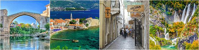 Pakej Pelancongan Balkan Negara