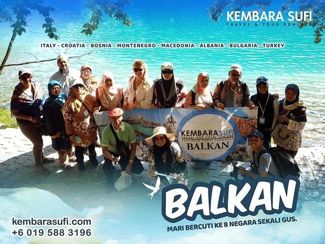 Pakej Pelancongan Balkan Syok