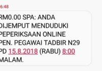Contoh Soalan Penolong Pegawai Tadbir N29 Versi 15 Ogos 2018