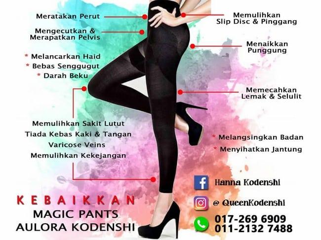 kelebihan magic pants kodenshi