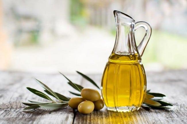 kulit muka kering dan kusam olive oil