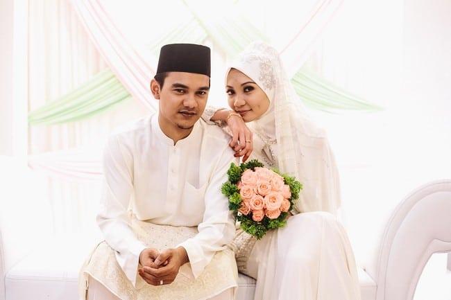 majlis perkahwinan pasangan pengantin cantik
