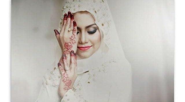 majlis perkahwinan dengan makeup cantik