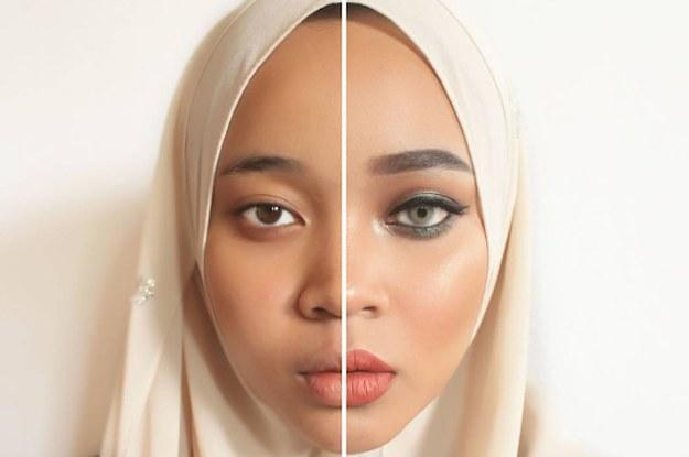 makeup lambang kecantikan