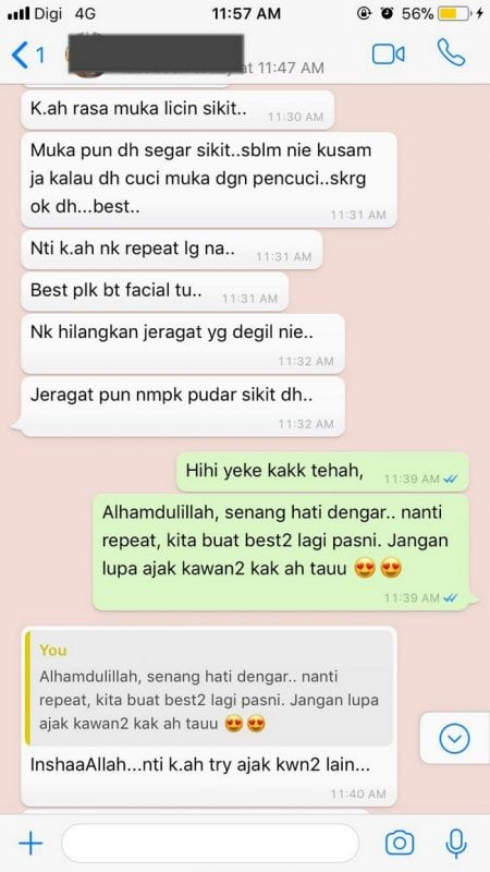 testimoni whatsapp mobile spa