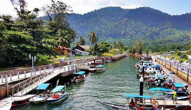 kampung tangkuk pulau tioman