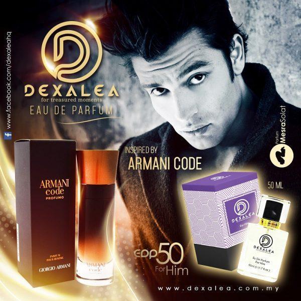 perfume dexalea murah dan tahan lama armani code