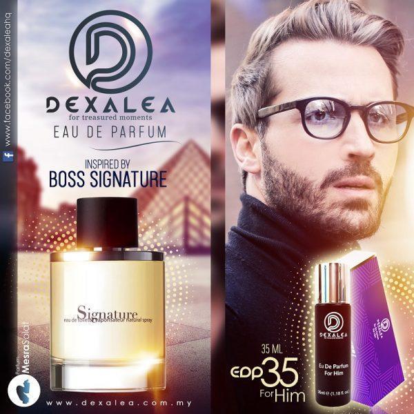 boss signature perfume dexalea murah dan tahan lama
