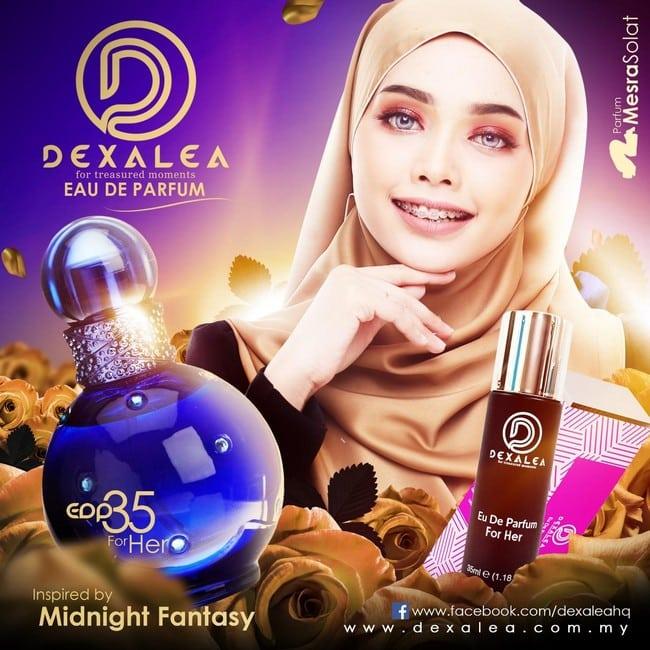 perfume dexalea murah dan tahan lama perempuan