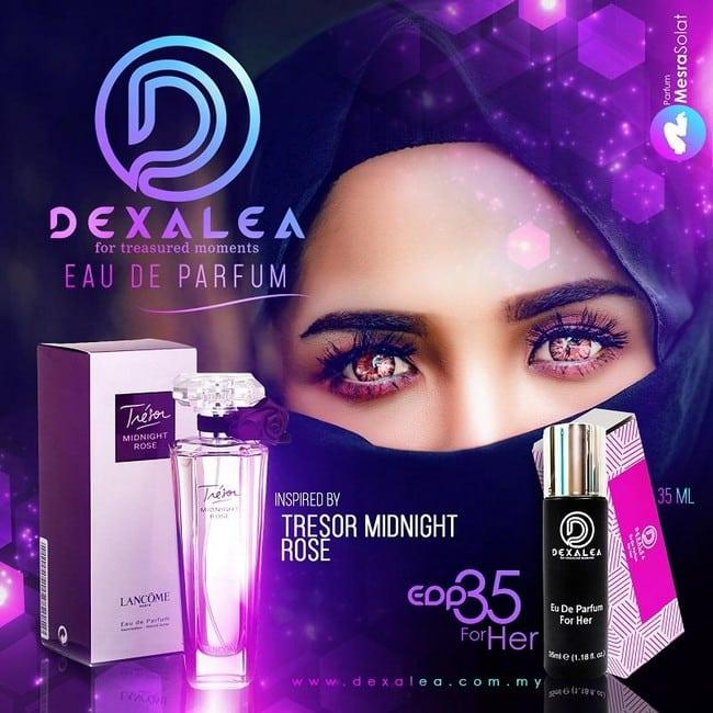 perfume dexalea murah dan tahan lama tresor night