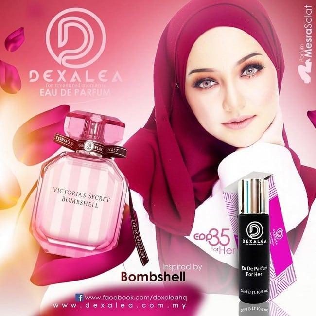 perfume dexalea murah dan tahan lama bombshell