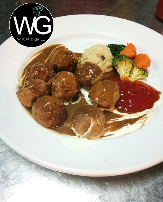 restoran wheat meatball